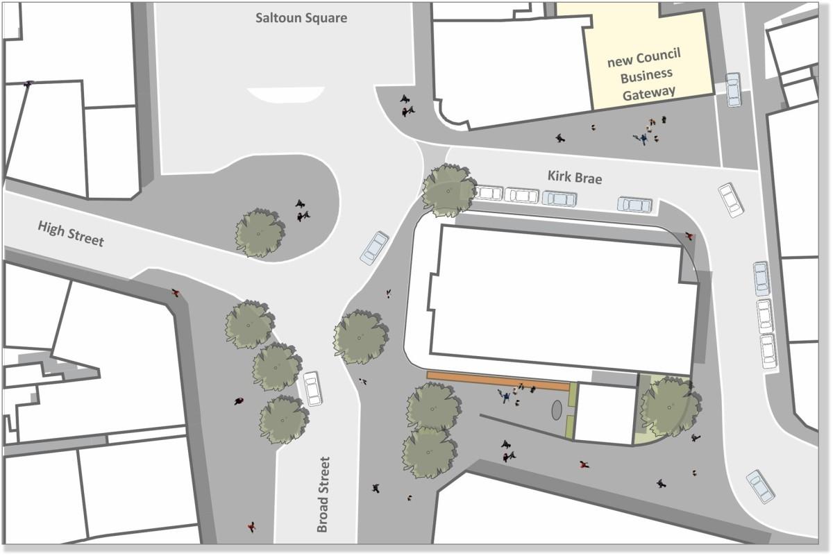 1 Saltoun Square Public Realm Plan